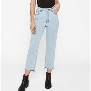PacSun Kendall & Kylie Mom Jeans Blue Lagoon NEW